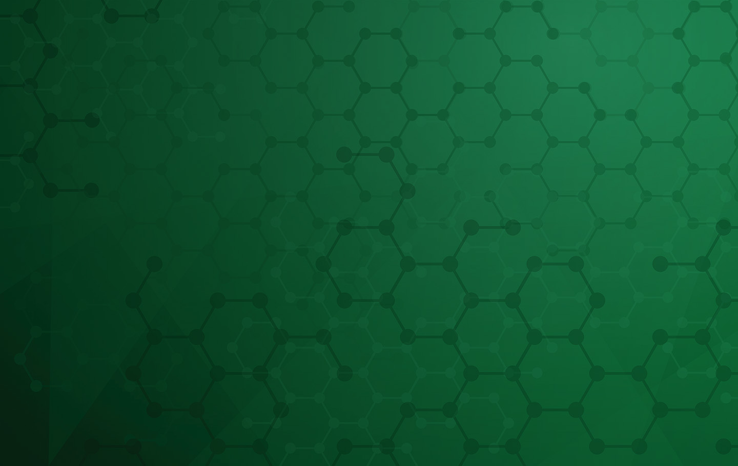 Green Hex Background